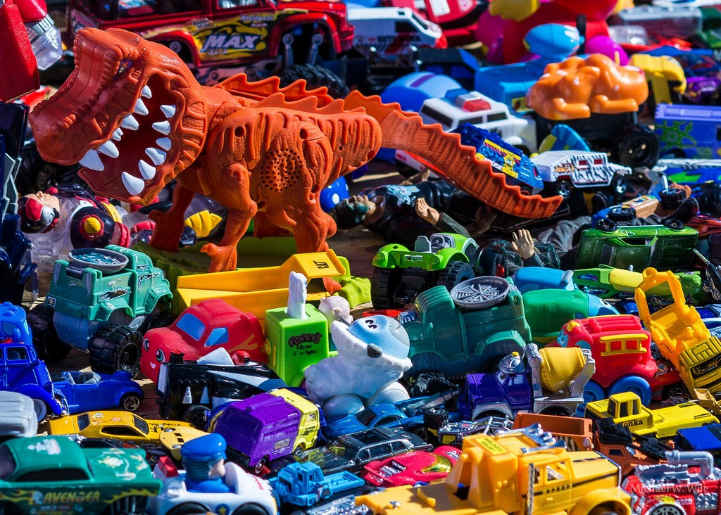You might be bringing home a little monster from the flea market. Photo: mwwile, Creative Commons, some rights reserved