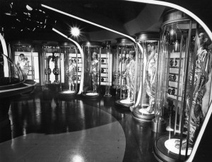 """The Robinson Family """"hibernating"""" in their suspended animation tanks in a publicity still for """"Lost in Space."""" Photo: public domain"""