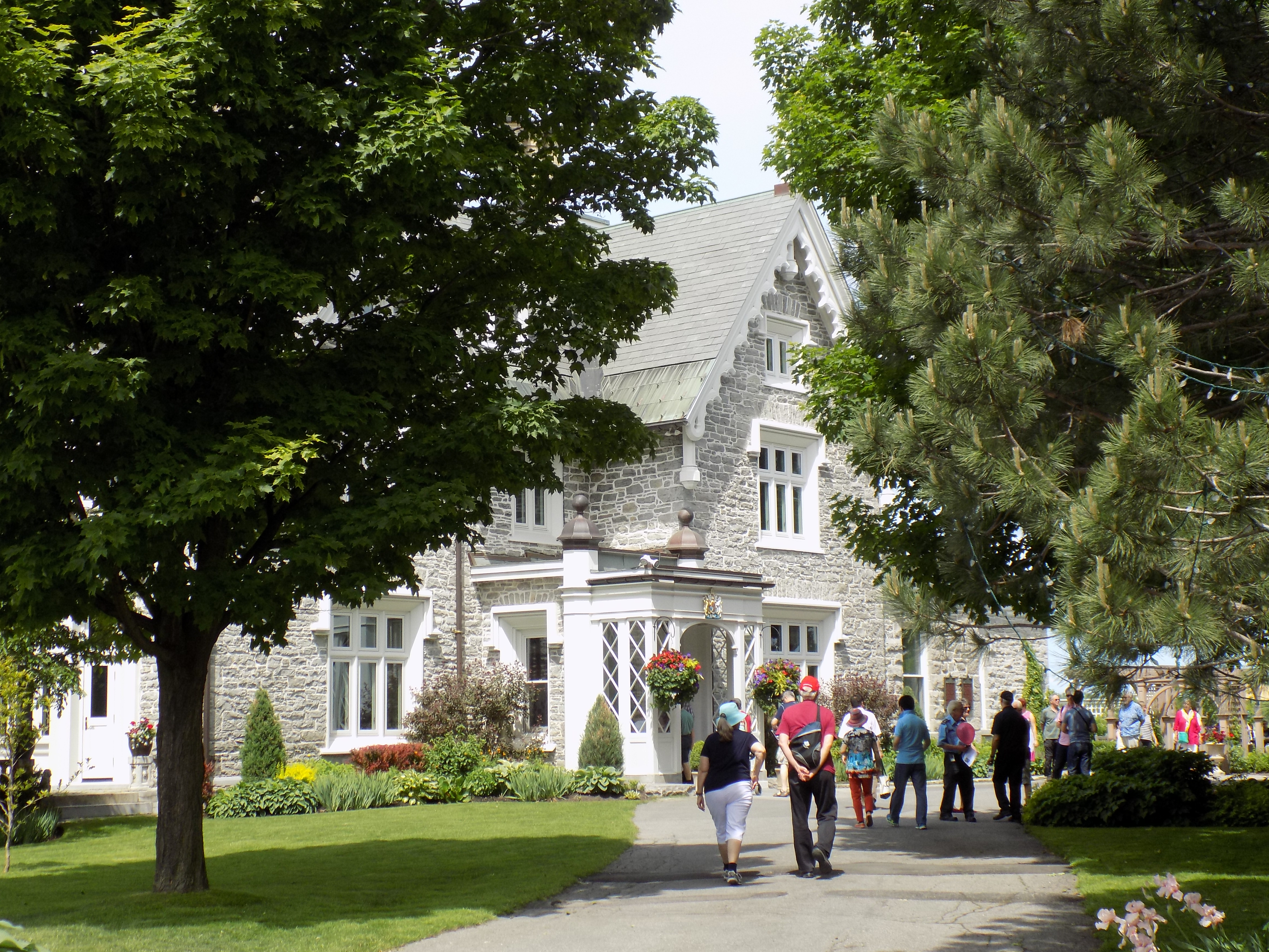 Earnscliffe on Sussex Drive in Ottawa is home to the British High Commissioner. It was & Doors Open Ottawa pulls back the curtain on the seldom seen « All In Pezcame.Com