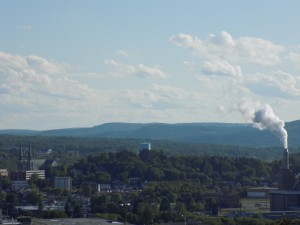 Edmundston, New Brunswick is the unofficial capital of the unofficial Republic of Madawaska.  Photo by James Morgan