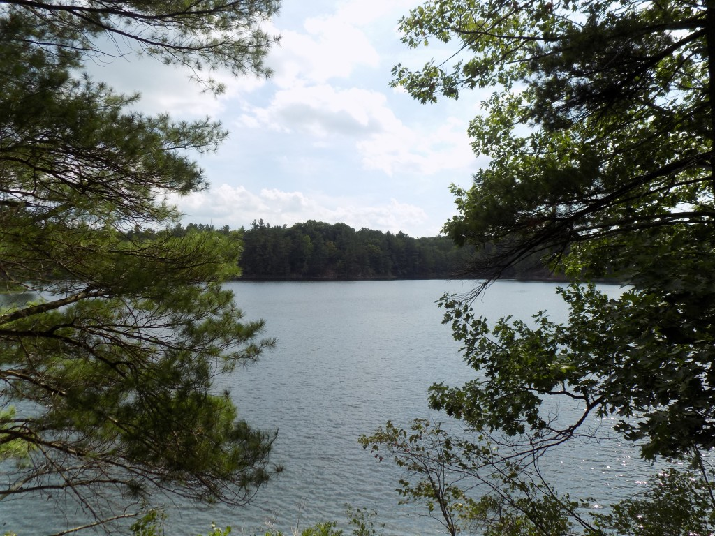 South Otter Lake is located at the entrance of Frontenac Provincial Park.  Photo by James Morgan