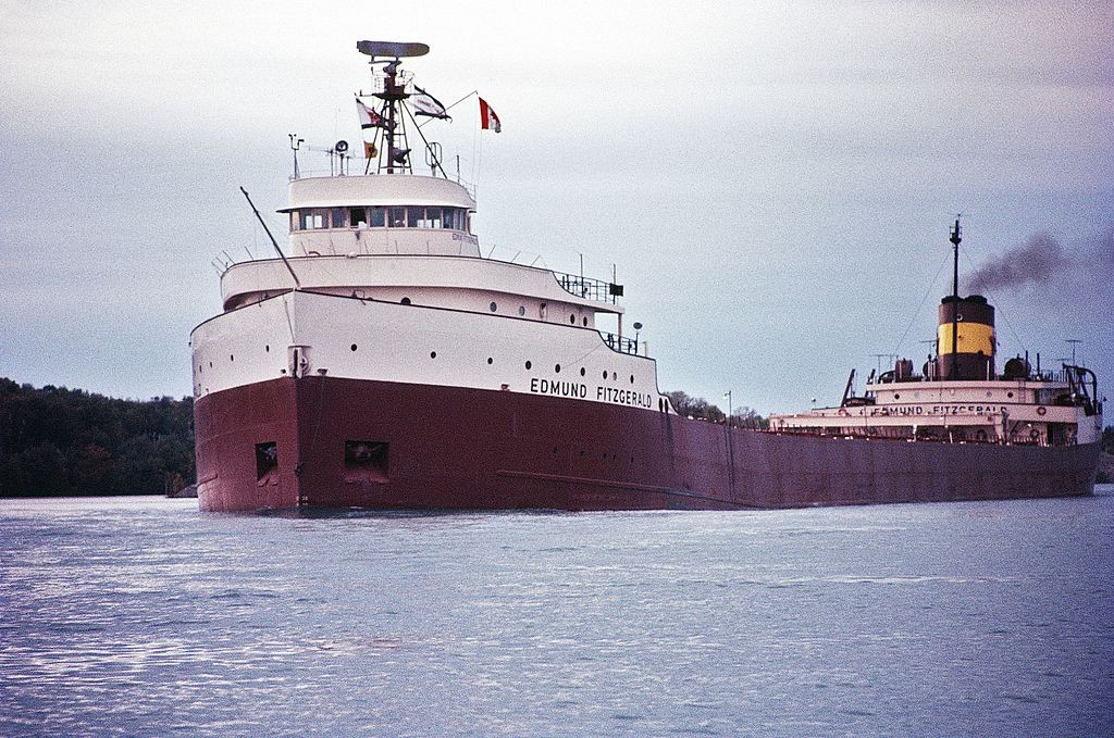 The Edmund Fitzgerald, 1971. Photo: Greenmars, Creative Commons, some rights reserved