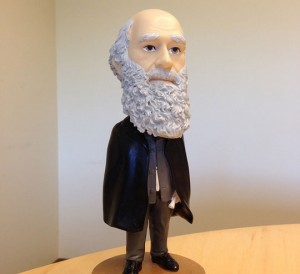 Charles Darwin, bobblehead.