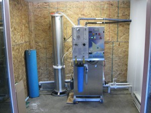 Low sap sugar content favore producers using a reverse osmosis sytem. Photo: Vermont Maple Sugarmaker's Association