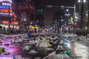 After Mardi Gras. Photo: Nick Solari, Creative Commons, some rights reserved