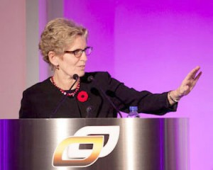 Premier Kathleen Wynne. Photo: Ontario Chamber of Commerce, Creative Commons, some rights reserved