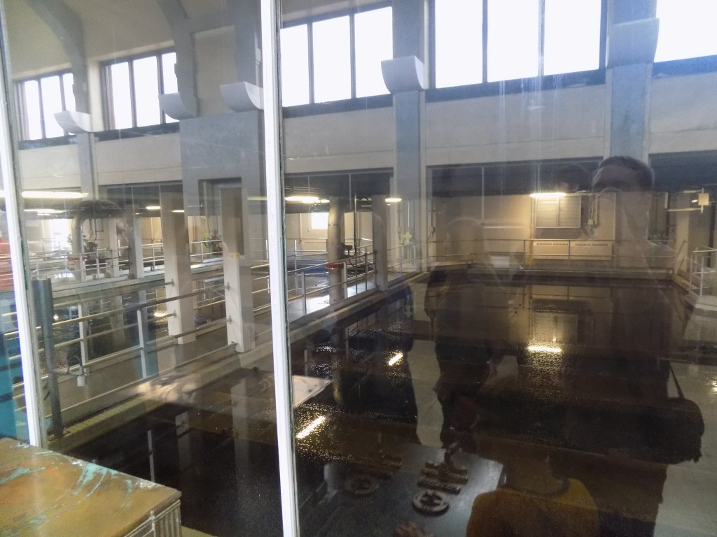 The filtration pools.  Each one is about 12 feet deep.  Photo: James Morgan