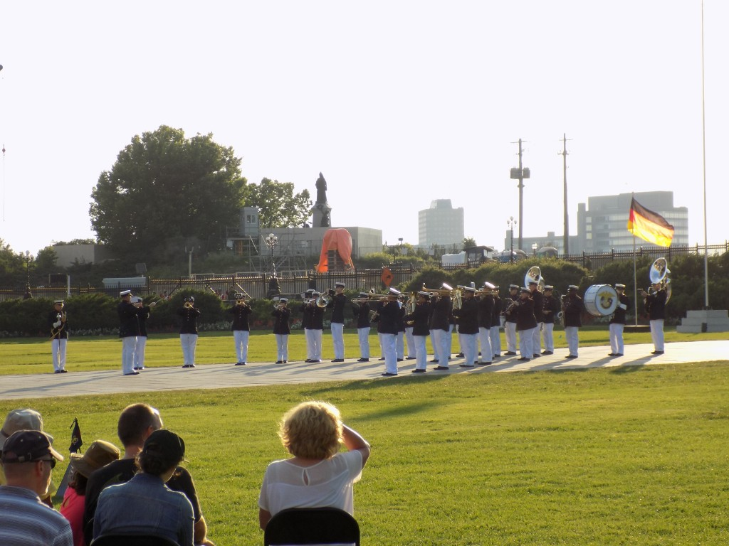 The Band of America's Few performed at Fortissimo.  Photo: James Morgan