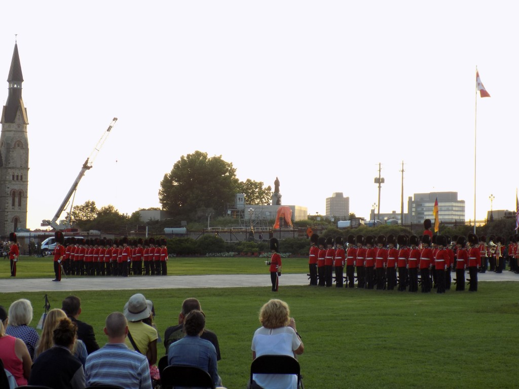 Soldiers of the Ceremonial Guard.  Photo: James Morgan