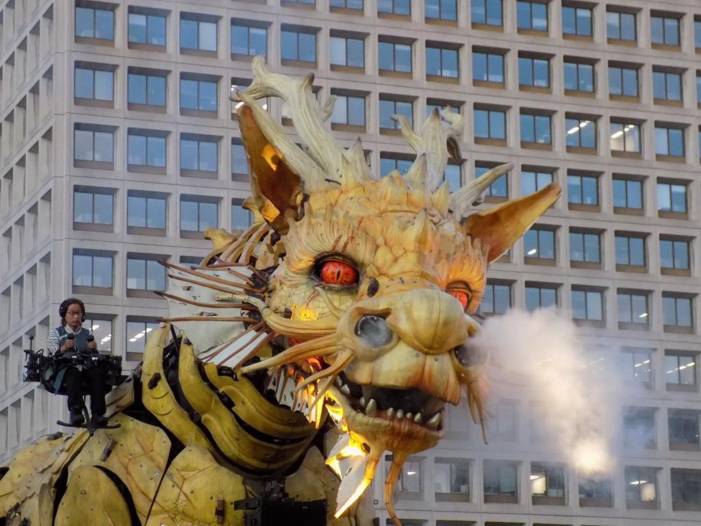 Long Ma the dragon-horse of La Machine.