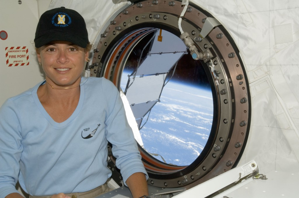 Canada's incoming Governor-General, Julie Payette, aboard the International Space Station in 2009. Photo: NASA