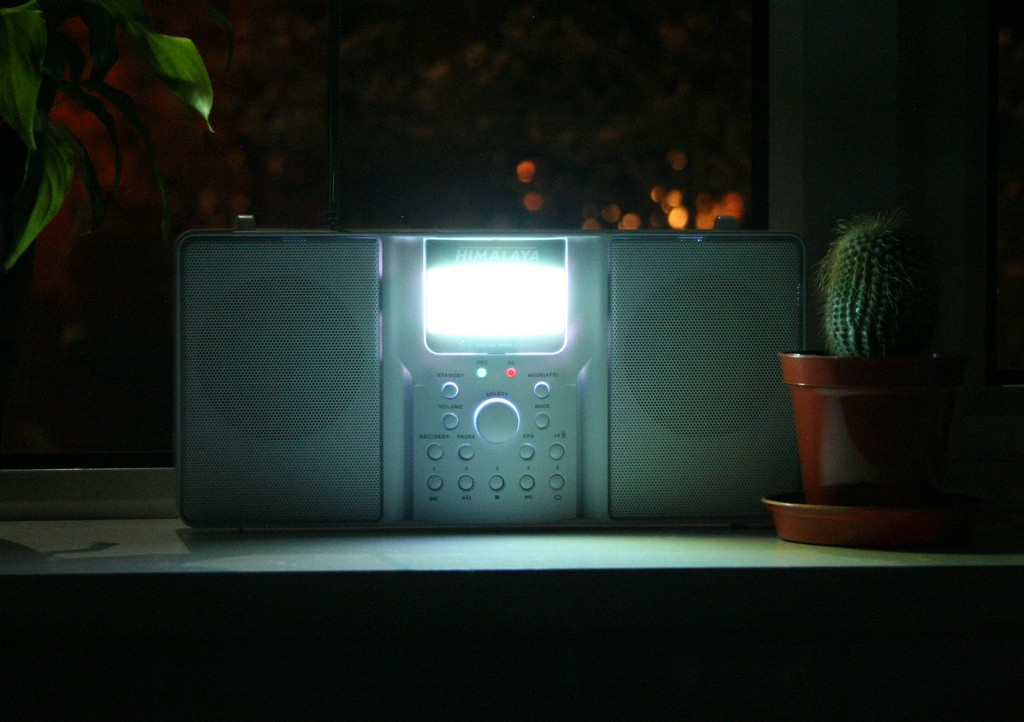 Radio is illuminating. Photo: Stephen Martin, Creative Commons, some rights reserved