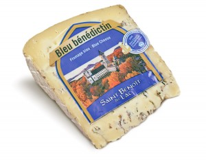 One cheese produced by the brothers of  St. Benoit.