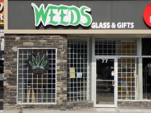 A WEEDS store on Montreal Road in the Vanier area of Ottawa.  Photo: James Morgan