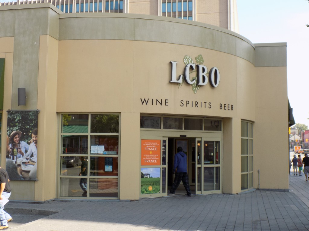 The LCBO store on Rideau Street in downtown Ottawa.  The government agency will operate separate stores to sell legal cannabis.  Photo: James Morgan