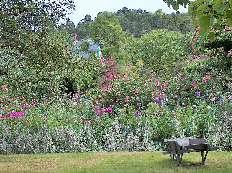 Maybe shoot for something like this - garden of painter Claude Monet, Giverny, France. Photo: Ibex73, Creative Commons, some rights reserved