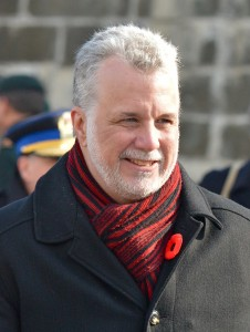 Quebec Premier Philippe Couillard. Photo: Asclepias, Creative Commons, some rights reserved