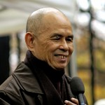 Thich Nhat Hanh in Paris, 2006. Photo: Duc, Creative Commons, some rights reserved