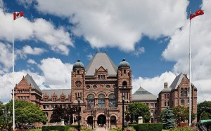 The Ontario Legislative Assembly building in Toronto. Photo: Benson Kua, Creative Commons, some rights reserved