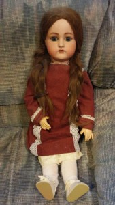 Maevis, a doll with a story.  Photo submitted.