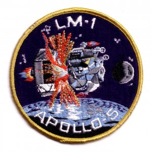 In January 1968, the Apollo 5 mission was launched to test the Lunar Excursion Module in advance of the moon landing. Photo: Grumman Aerospace, public domain