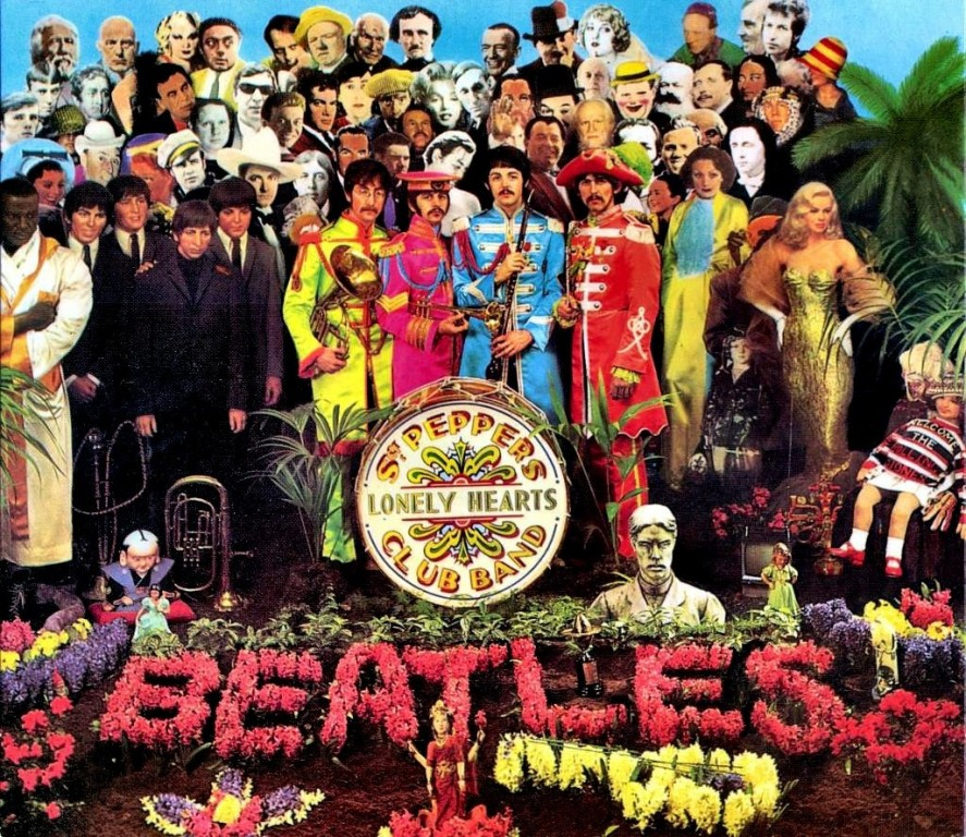 Sgt Pepper's Lonly Hearts Club Band took the Grammy for Album of the Year.