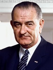 President Lyndon Johnson. Photo: White House Press Office