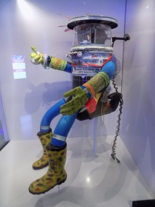 Hitchbot's retirement home at the Canada Museum of Science and Technology.  Photo: James Morgan