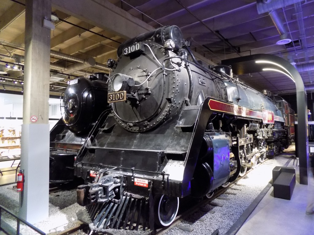 Canadian-made steam locomotives at the Canada Science and Technology Museum in Ottawa.  Photo: James Morgan.