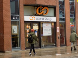 Alterna Savings is one of the three Ottawa credit unions Causeway Work Centre partnered with for its lending program.  Photo: James Morgan