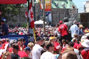 Canada Day in Ottawa, 2011. Photo: Derek Hatfield, Creative Commons, some rights reserved