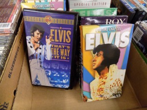 Elvis is easily the most popular yard sale celebrity.  Photo: James Morgan