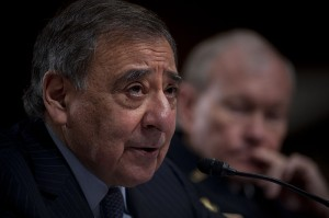 Defense Secretary Leon E. Panetta and Army Gen. Martin E. Dempsey, chairman of the Joint Chiefs of Staff, testify at at a Senate hearing on Benghazi in February 2013. Photo: Office of the Secretary of Defense, Creative Commons, some rights reserved