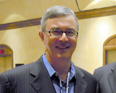 Former US Ambassador Paul Cellucii in Banff, Alberta in 2010. Photo: US Embassy Canada.