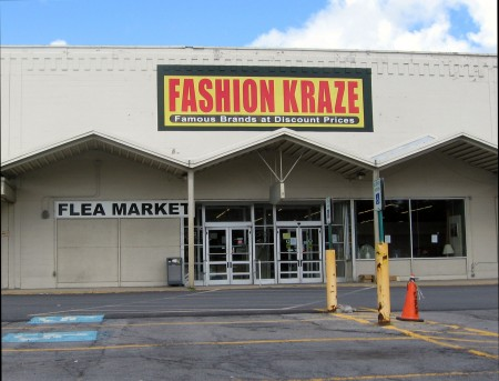 The Fashion Kraze and flea market in Canton. Photo: Dale Hobson