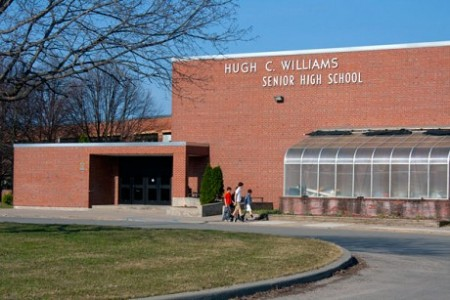 Hugh C. Williams Senior High School, Canton Central School District. NCPR File Photo