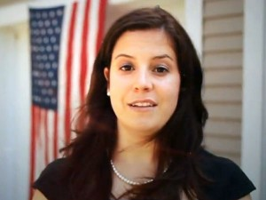 Still from the online spot introducing Elise Stefanik's candidacy for the NY21 Congressional District. Image: Campaign website
