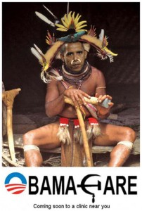 This photoshopped image of President Barack Obama became a favorite in conservative circles in 2009 during the healthcare debate.