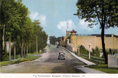 Kingston Penitentiary postcard, c. 1930. Photo: Bill Stevenson, Creative Commons, some rights reserved