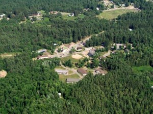 Camp Gabriels seen from the air.  (Photo: NYS)