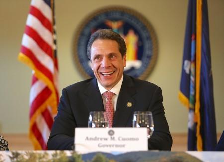 Gov. Andrew Cuomo in Wilmington, NY, November 2013. Photo: Gov. Cuomo's office via Flickr