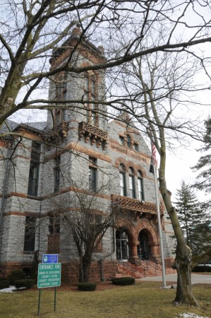 The St. Lawrence County Courthouse. Photo: Mark Kurtz