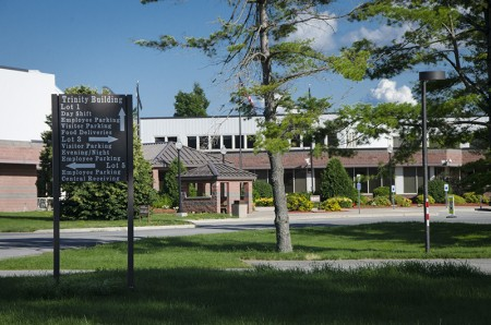 St. Lawrence Psychiatric Center in Ogdensburg. Photo: Lizette Haenel