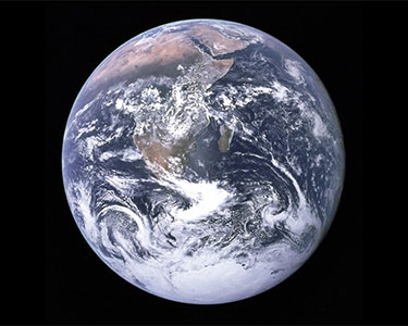 The whole earth. Photo: NASA