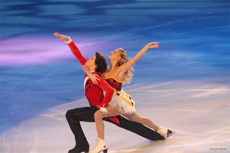 "Ice dancing team Piper Gilles & Paul Poirier. Gilles was ""fast-tracked"" for Canadian citizenship to become eligible for Team Canada and the Sochi games. Photo: annoyedtonoend, Creative COmmons, some rights reserved"