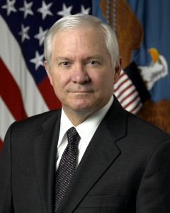 Former Defense Secretary Robert Gates (PHOTO:  Pentagon)