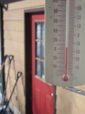 Yes, it's cold. But do simple numbers tell whole story? Photo: Lucy Martin
