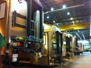 The Bombardier plant in Plattsburgh. Photo: Sarah Harris