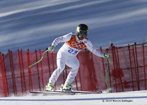 NCPR file photo Andrew Weibrchet in Sochi.  Nancie Battaglia