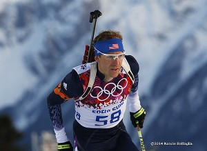 Lowell Bailey cracks the top-10 in Sochi.  Photo:  Nancie Battaglia
